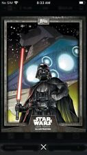 Topps Star Wars Digital Card Trader Gray Darth Vader Card Trader Illus. Insert