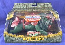 MOTUC Masters of the Universe Classics Battle Lion New in Mailer
