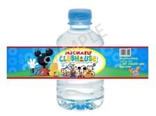 Mickey Mouse Clubhouse Water Bottle Wrapper - Child Birthday Favors
