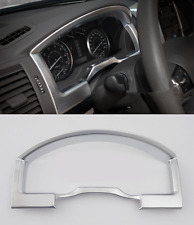 Chrome Internal front dashboard cover trim For Toyota Land Cruiser LC200 2016