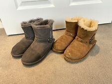 Kirkland Sheepskin Boots Girls Winter Shoes Kids Children 11