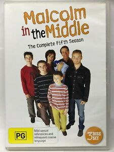 Malcolm in the Middle - Complete Fifth Season - 3DVD Set - AusPost with Tracking