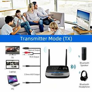 Bluetooth wireless 5.0 Transmitter Receiver 265FT Long Range