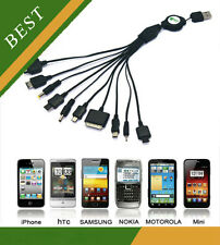 CELLULARE CARICATORE USB SAMSUNG GALAXY S3 S4 S5/IPHONE 3 4 4S IPAD PSP