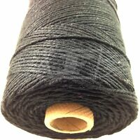 BEAUTIFUL BAKERS TWINE SOLID BLACK 2mm 2 PLY- PAPER STRING CORD EVERLASTO