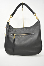 MARC By Marc Jacobs M00008895 Recruit Leather Hobo / Shoulder Bag in Black