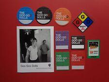 "Goo Goo Dolls ,1 promo photo,9 ""Otto"" Backstage passes,Rare Originals"