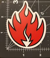Red Flame 🔥 Adult Humor Skateboard /Laptop/ Guitar Decal Sticker