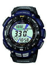 Casio Pathfinder Men's Tough Solar Triple Sensor Two-Tone 57.5mm Watch PAG240B-2