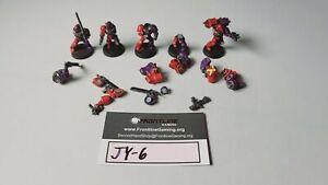 Warhammer 40k Space Marine Assault Marines Painted JY-6