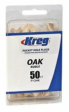Kreg P-OAK Oak Plugs for Pockets, 50-Pack