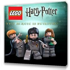 """Lego Harry Potter Canvas 10""""x10""""  Framed Picture"""