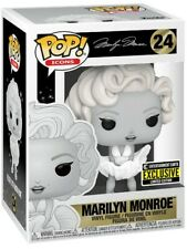 Funko POP #24 Icons Marilyn Monroe Black and White Exclusive Figure New