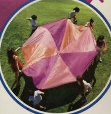 6 ft Kids PINK Play Parachute Outdoor Indoor Children's Activity Game Sport