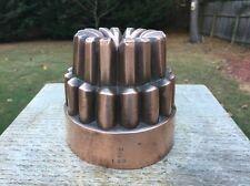 Antique Victorian Copper Jelly Mold Mould Benham Froud # 489 Gothic Design