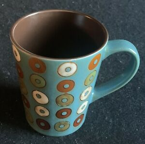 Mr Coffee Turquoise Donut Coffee Cup Mug