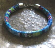 Ethno Armband blau bunt Herren Damen neu Unisex Bracelet blue Pulsera Mexiko