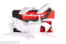 Kit plastiques Coque Polisport  Honda CRF110F  2013 2014 2015  Coul: Blanc