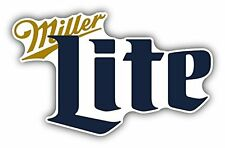 Miller Lite Beer Drink Bumper Sticker Car Truck Window  Decal 4pack 2.5""