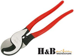 "Heavy Duty 10""  Cable Cutters Copper Aluminium NBN Wire Cutter Pliers"