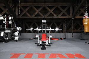 TYTAX M1 Multi-Gym Kraftstation mit Übungsarmen und Langhantel-Rack