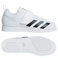 Adidas Powerlift 4 Weightlifting Shoes Mens Womens White Powerlifting Trainers