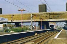 PHOTO  HERTFORDSHIRE  BROXBOURNE RAILWAY STATION 1995 1