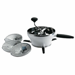OXO Good Grips Stainless Steel Manual Food Mill for Purees and Sauces, 2.3 Quart