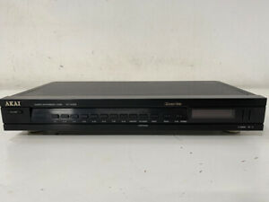 Vintage AKAI AT-A335 Stereo AM/FM Tuner - High Quality - Fully Working