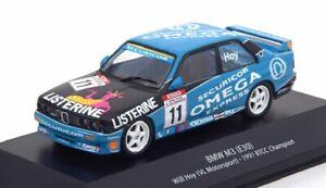 BMW M3 E30 Will Hoy BTCC 1991 1:43 voiture miniature Atlas Diecast