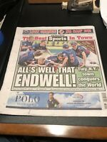 2016 Endwell, NY Little League World Series Championship New York Post Newspaper