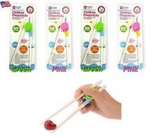 4 Pair Baby Eating Tool Helper Children Learning Chopstick Training Chopstick