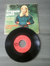 France Gall - 45 T SP 5 minutes d'amour