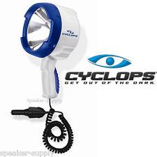 Cyclops 1400 Lumens 12V Marine Handheld 100 W Halogen Spotlight Beam HS1400-MAR