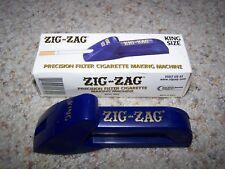 Vintage ZIG-ZAG Precision Filter CIGARETTE MAKING MACHINE King Size Short