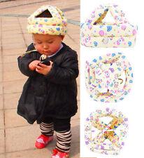 Cute Baby Toddler Safety Helmet Hats No Bumps Adjustable Cap Headguard