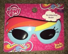 MY LITTLE PONY RAINBOW DASH 100% UV Shatter Resistant Costume Sunglasses NWT