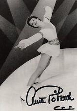 1170 ANETT PÖTZSCH Eiskunstlauf 1980 DDR orig.sign.Autogrammkarte Figure Skating