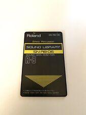Roland SN R8 06 étnico percusión tarjeta para R8 R8M