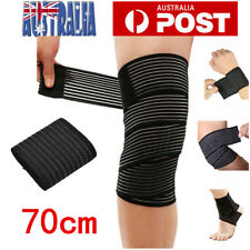 Sports Elastic Wrist Knee Ankle Elbow Calf Arm Bandage Brace Support Wrap Band