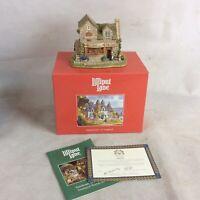"Lilliput Lane Village Shops ""The Baker's Shop"" Model 1995. Box And Deeds"