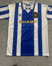 Manchester United Away 1994-1996 Retro Football Shirt *S-XXL Man Utd Cantona 7