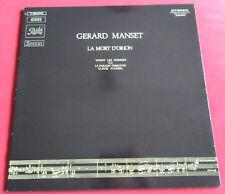 GERARD MANSET  LP  FR reedition 1978  LA MORT D'ORION