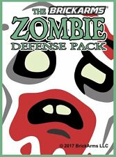 Brickarms Zombie Defense Pack 2017- Can be used with Lego BNIP