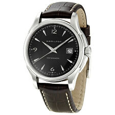 Hamilton Jazzmaster Brown Leather Mens Automatic Watch H32515535-AU