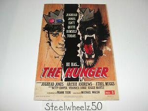 Jughead The Hunger #1 Hack Variant One Shot Comic Archie 2017 1C Frank Tieri HTF