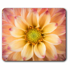 Computer Mouse Mat - Beautiful Dahlia Colourful Flower Office Gift #16634