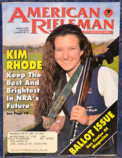 Magazine American Rifleman, MARCH 1997 !! BROWNING Buck Mark Bullseye PISTOL !!