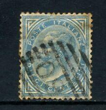 1877 - REGNO - 10 cent. AZZURRO VITTORIO EMANUELE II° - USATO - LOTTO/26412