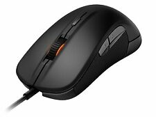 SteelSeries Rival USB Wired Optical Gaming Mouse, Illuminated, Black - 62271